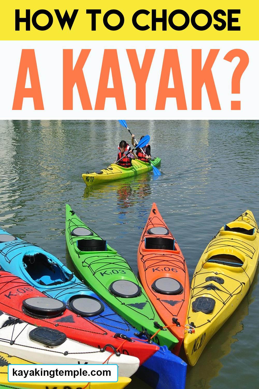 select a kayak