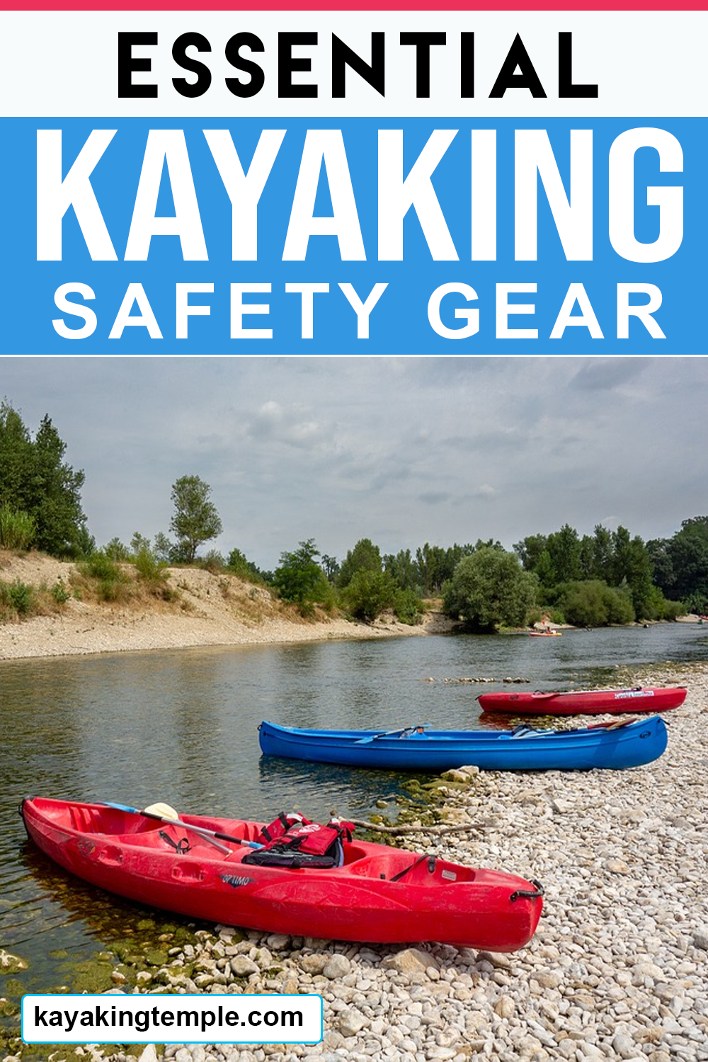 kayaking safety equipment