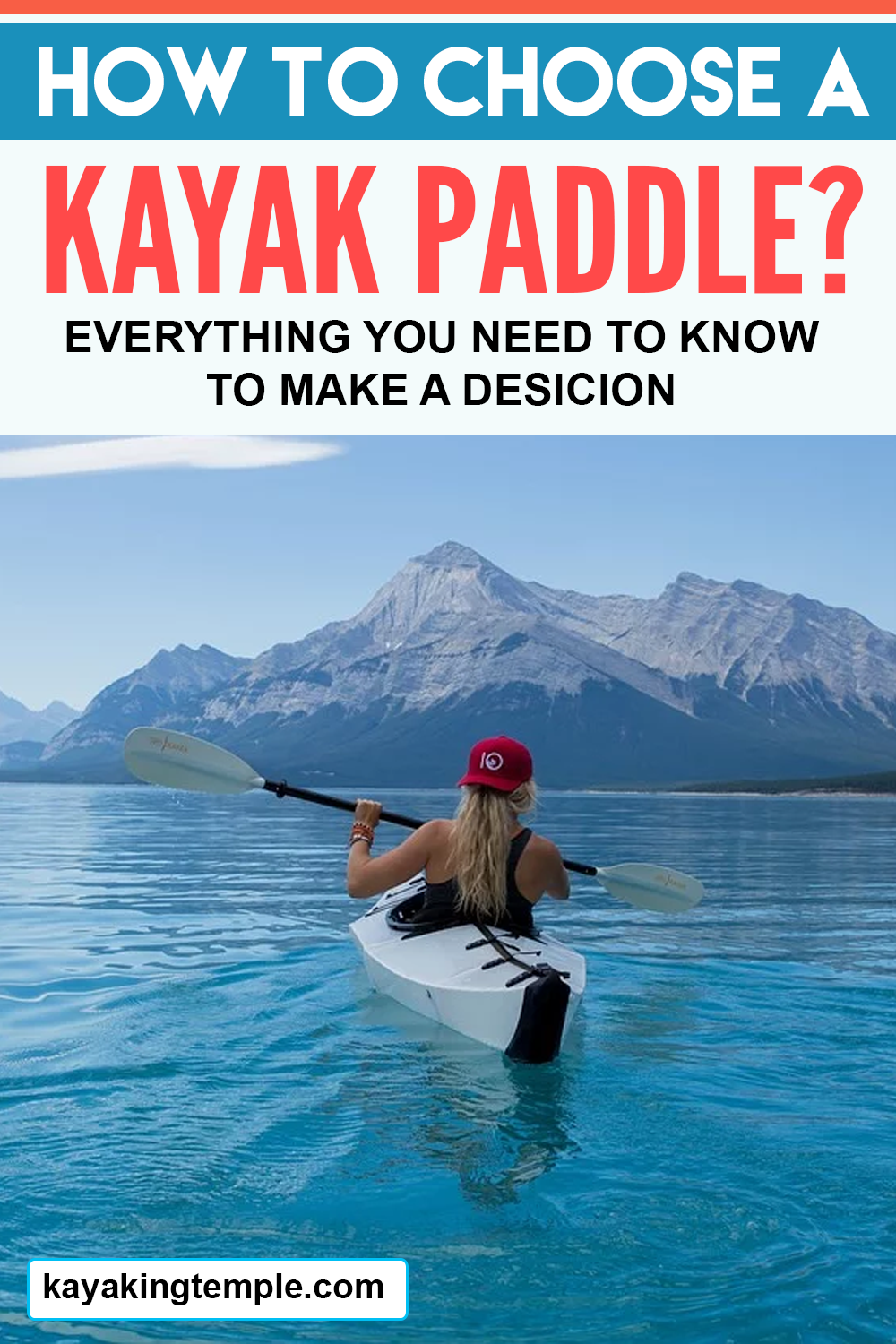 kayak paddle guide
