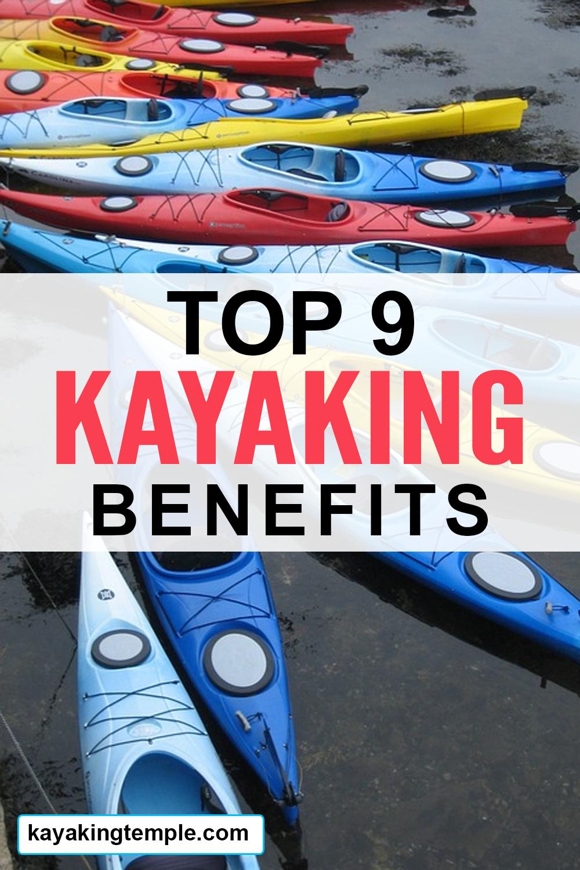 kayaking advantages