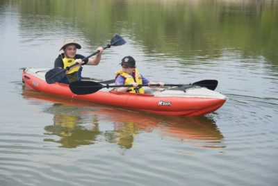 Inflatable Kayaking Beginners