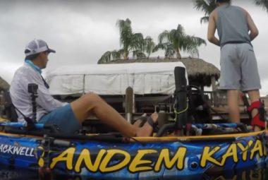 Tandem Fishing Kayaking