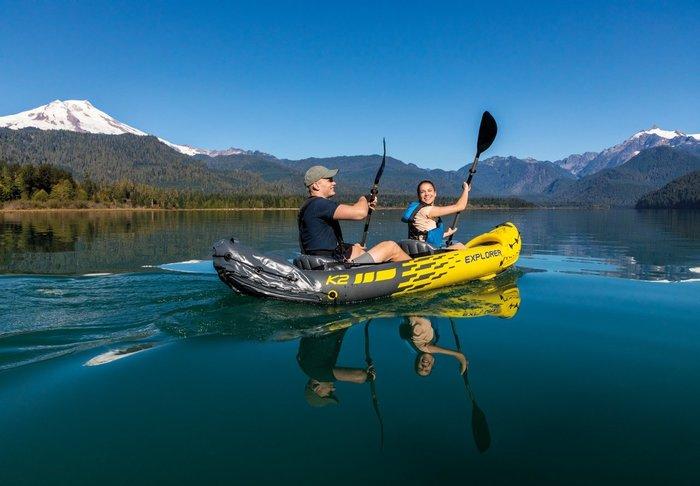 Intex Explorer K2 Inflatable Kayak Review